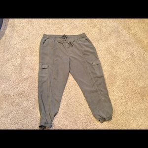Army Green jogger pants
